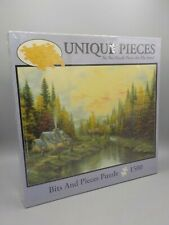 New Factory Sealed Bits & Pieces Jigsaw Puzzle 1500 Pcs Indian Summer Cabin Lake