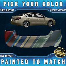 NEW Painted to Match- Rear Bumper Cover for 2007-2012 Nissan Altima Sedan/Hybrid