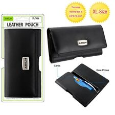 ALCATEL T-Mobile Revvlry PLUS Horizontal Leather Pouch Case Belt Clip Holster