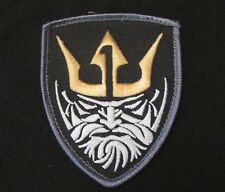 MEDAL OF HONOR KING NEPTUNE MOH MBSS NAVY COLOR VELCRO® BRAND FASTENER PATCH