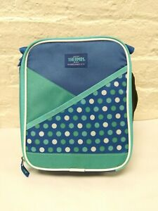 THERMOS Insulated Lunch Box Kit With Front Pocket Blue