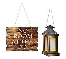 FE-OTC Christmas Decor - Photo Props Nativity Lantern No Room At Inn #13665032