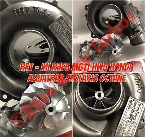 RRT IHI MG11 F15X Honda Aquatrax 7+7 Billet Performance Profile Compressor Wheel