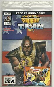 Mr. T and the T-Force #4 (1993 NOW Comics) sealed poly bag  High grade .