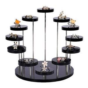 Cupcake Dessert Stand Acrylic Jewelry Display Holder Rack Birthday Party Decor