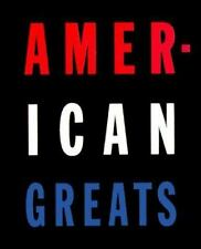 American Greats Wilson Marcus Coffee Table Book History Essays Stories Photo USA