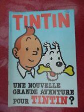 JOURNAL  TINTIN  BELGE  12    DE  1988  COUV   HERGE  NEUF