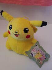 Pokemon Plush Fuzzy Pikachu VINTAGE Banpresto Japanese UFO doll Stuffed