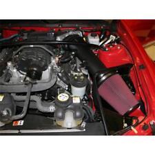 AirAid Air Intake Kit 450-211; MXP Air Dam Black Tube for Mustang Shelby GT500