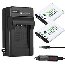 2x EN-EL10 Batteries + Charger For Nikon Coolpix S210 S500 S510 S520 S3000 S4000