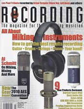 Recording Magazine Miking Instruments Al Schmitt Aes Convention Les Paul Tribute