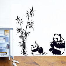 Cute Chinese Bamboo Panda Wall Decals Stickers Vinyl Art Home Decor 60CM*90CM