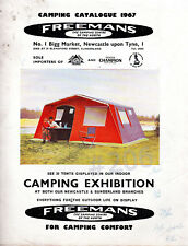 FREEMANS Camping Centre of the North CAMPING CATALOGUE 1967 - NEWCASTLE