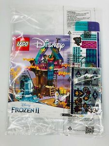 New LEGO Frozen II #41164 Instruction Booklet Manual With Stickers & Canopy