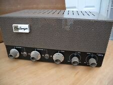 Challenger tube Microphone amplifier 33 watts 100% worked condition. u.s.a.