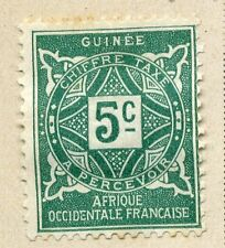 FRENCH COLONIES :;  GUINEE 1914 Postage Due issue Mint hinged 5c. value