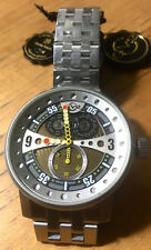 GEVRIL LTD EDITION GV2 POWERBALL W/STAINLESS STEEL BRACELET NIB WTAGS & WRAPPING