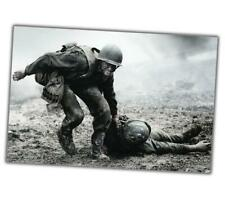 "World War Photo Normandy d-day saving a soldier WW2 Glossy Size ""4 x 6"" inch α"