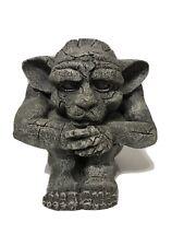 Sitting Gargoyle Figure Decor