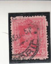 Spain 1922-1930. King Alfonso Xiii. 25c. Carmine. Used