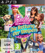 Sony PS3 Playstation 3 Spiel Barbie und ihre Schwestern: Die Rettung der Welpen