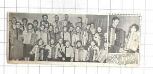 1956 Leicester Accordion Club Brian Bishop Anthony Steel