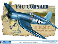 ART PRINT: F4U Corsair Boyington Blacksheep - Print by Shepherd