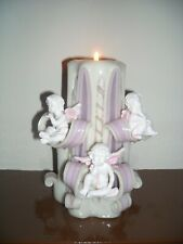 Cherub Hand Carved candle