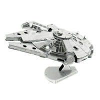 Star Wars Classic – Millennium Falcon Metal Earth 3D Laser Cut Metal Puzzle b...