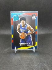2017-18 Optic - DeAaron Fox Red And Yellow Rookie Card #196!!🔥🔥