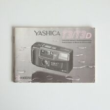 Yashica T3 Instruction Manual