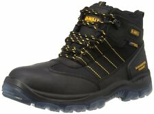 DeWALT NICKLE BLACK  Black waterproof safety boots latest model SIZE 7