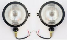 Massey Ferguson Tractor Head Lights set-Black RH & LH fits in 10