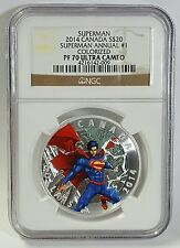 2014 Canada S$20 Superman Annual #1 NGC PF 70 Colorized Ultra Cameo