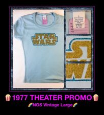 vTg 77 NOS Star Wars Fox Promo PRINCESS LEIA Han Solo story 70s T-Shirt womans L