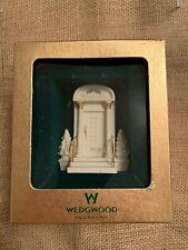Wedgwood 2002 Our New Home Ornament White Jasperware Christmas Ornament