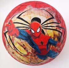 "Marvel Ultimate Spider-Man Playground Ball, 8.5"", Red/Black/Blue NEW"