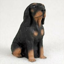 Conversation Concepts Black and Tan Coonhound Dog Figurine