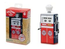 1954 TOKHEIM 350 RED CROWN GAS TWIN GAS PUMP REPLICA 1/18 GREENLIGHT 14030 C
