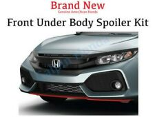 Genuine OEM Honda CIVIC 4Dr HATCHBACK Front Under Body Spoiler Kit 2017- 2019