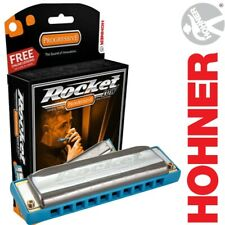 Hohner ROCKET LOW Diatonic Progressive Series Key of Low D Harmonica, M2016BX-LD