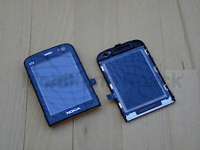 Original Nokia N78 Window Assembly | Displayglas | Cover Schwarz Black NEU