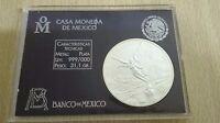 1 ONZA PLATA PURA 1996 - ESTADOS UNIDOS MEXICANOS - LEY .999 - WITH ORIGINAL BOX