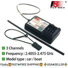 4  x RC Flysky 2.4G 3CH FS-GR3E GR3E Receiver for FS GT3B GT2 GT3C Transmitter
