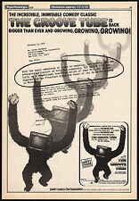 THE GROOVE TUBE__Original 1979 Trade AD / poster__CHEVY CHASE__RICHARD BELZER