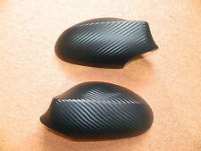 Spiegelkappen Spiegel Kappen Carbon Look Matt Folien Set passend für BMW