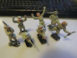 Lone Star WW2 German Toy Soldiers x 7