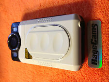 F200HD DOD WHITE 1080P CAMCORDER HDMI OUT HD VIDEO RECORDER PORTABLE LCD AV MINT