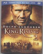 NEUF COMBO BLU RAY + DVD KING RISING 2 SOUS BLISTER DOLPH LUNDGREN