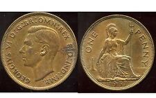 ROYAUME UNI  one penny 1937   TTB ++